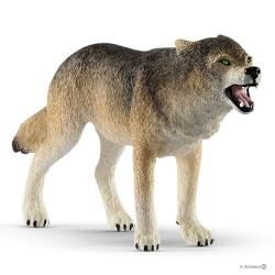 Schleich 14821 divoké zvieratko vlk dravý