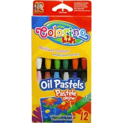 Colorino Kids farebné olejové pastelky 12 kusov