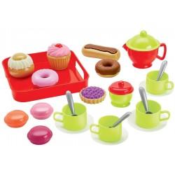 ÉCOIFFIER Detská čajová súprava s koláčikmi