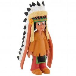 Bullyland Yakari - Yakari s pierkami na hlave rozprávková figúrka