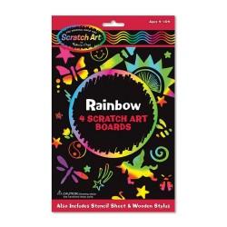 Melissa & Doug Škrabacie obrázky - Rainbow