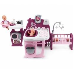 SMOBY Baby Nurse centrum pre bábiky 3v1 Violette
