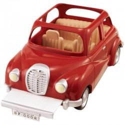 Sylvanian Families 5273 rodinné auto červené
