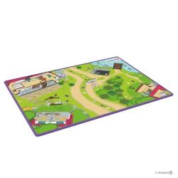 Schleich 42465 hrací koberec Horse Club