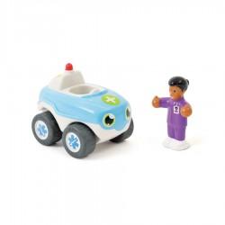 WOW Jojo záchranárske autíčko