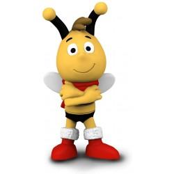 Schleich 27009 Včielka Maja - Vilko so šálom rozprávková figúrka