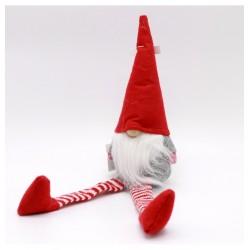 IMP-EX Vianočná dekorácia - škriatok sediaci 22 cm-ový