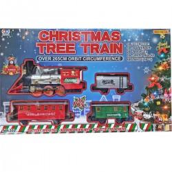 IMP-EX Vianočná vláčiková dráha - 36-dielna