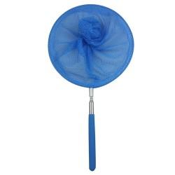 Sieťka na chytanie motýľov a hmyzu s teleskopickou rúčkou - modrá 83,5 cm