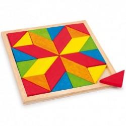 Legler Drevená farebná mozaika - Hviezda