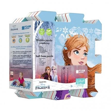 TREFL Penové puzzle na zem - Frozen II. Ľadové kráľovstvo 8ks