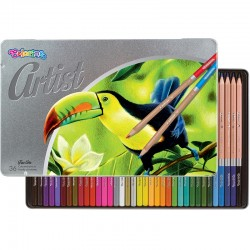 Colorino Artist farebné ceruzky 36 ks