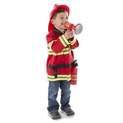 Melissa & Doug - Kompletný kostým - Požiarnik