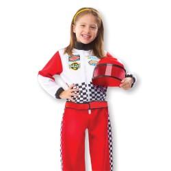 Melissa & Doug - Kompletný kostým s doplnkami - Pilot Formuly 1