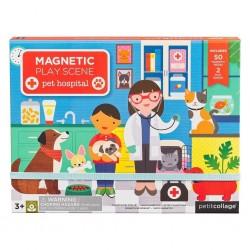 Petitcollage Magnetická tabuľka Veterinárna klinika