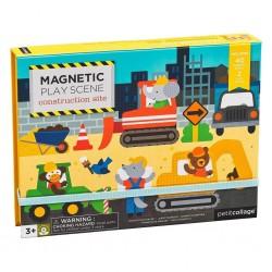 Petitcollage Magnetická tabuľka Na stavbe