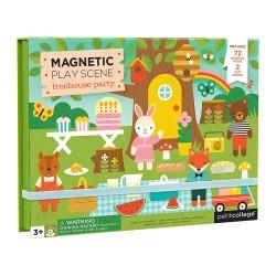 Petitcollage Magnetická tabuľka Zvierací strom