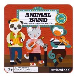 Petitcollage Magnetická knižka Zvieratká