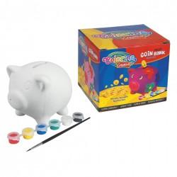 Colorino Kids Pokladnička na vymaľovanie - Prasiatko