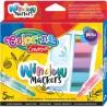 Colorino Kids kriedové pastelky na sklo 5 farieb