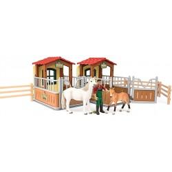Schleich 72116 Návšteva v stajni s koňmi