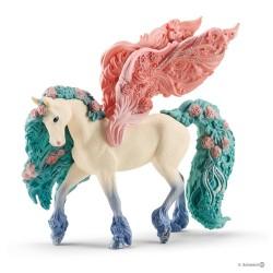 Schleich 70590 Pegazus kôň s kvetmi