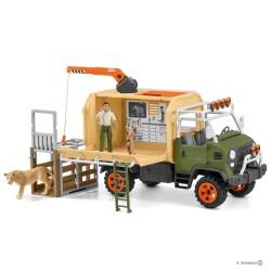 Schleich 42475 veľké záchranné vozidlo pre zvieratá