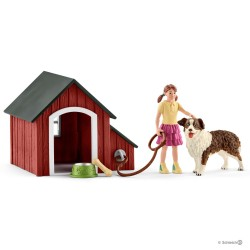 Schleich 42376 psia búda s príslušenstvom