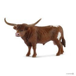 Schleich 13866 Texaský dlhorohý býk
