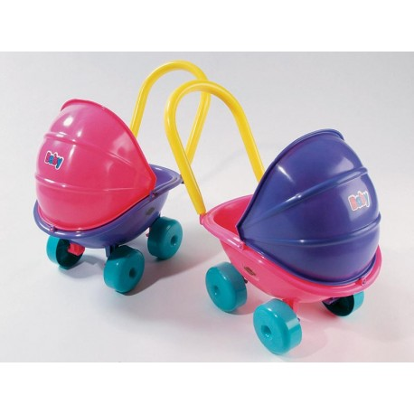 DOHÁNY Detský hlboký kočík pre bábiku 5013