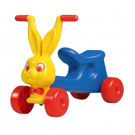 DOHÁNY Detské odrážadlo Zajac - žlto-modré