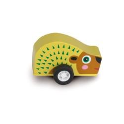 Oops drevená hračka na zotrvačník - ježko Pic