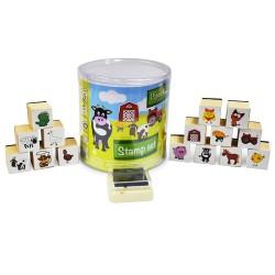 Detské pečiatky - 15 kusové - Farma