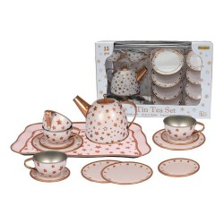 Detská čajová súprava - s bronzovým motívom