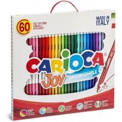 CARIOCA farebné umývateľné fixky 60 ks