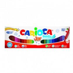 CARIOCA farebné umývateľné fixky 48 ks