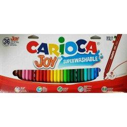 CARIOCA farebné umývateľné fixky 36 ks