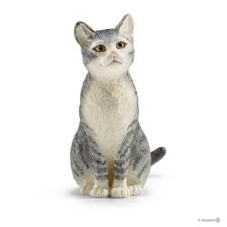 Schleich 13771 domáce zvieratko mačka domáca sediaca