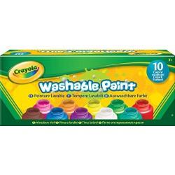 Crayola farby na maľovanie - 10 farieb