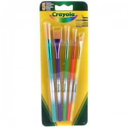 Crayola - sada štetcov - 5-dielna