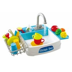Play Go Detské umývadlo s tečúcou vodou + 17 doplnkov