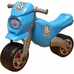 Detské odrážadlo Cross 8 motorka - modrá