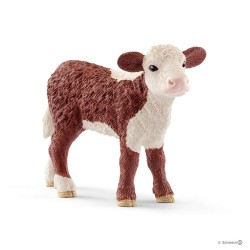 Schleich 13868 domáce zvieratko Herefordské teľiatko