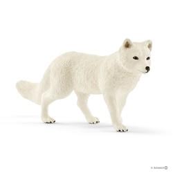 Schleich 14805 divoké zvieratko líška polárna
