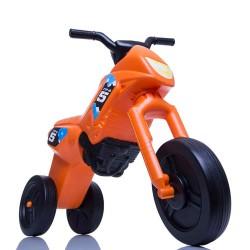 Enduro MotoKidZ Detské odrážadlo - motorka MINI - oranžovo-čierna