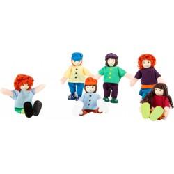Legler textil babák - barátok  2955