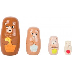 Legler Matrioška rodina Medveďov