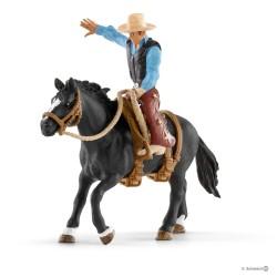 Schleich 41416 set jazdec cowboy na koni