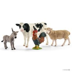 Schleich 42385 sada domácich zvieratiek 4ks