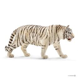 Schleich 14731 divoké zvieratko tiger biely samec